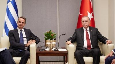 Σύμπλευση Mητσοτάκη -  Erdogan: Να μείνουν οι Αφγανοί όσο το δυνατόν εγγύτερα στις εστίες τους