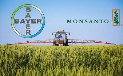 WSJ: Ενέκριναν οι ΗΠΑ την εξαγορά της Monsanto από την Bayer, στα 62,5 δισ. δολ.