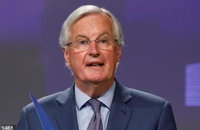 Barnier (ΕΕ): Δεν καταγράφεται σημαντική πρόοδος στις συνομιλίες  για τη σύναψη εμπορικής συμφωνίας με τη Βρετανία