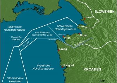 Σε ανοιχτή διαμάχη Σλοβενία και Κροατία εξαιτίας της διαφωνίας για τα θαλάσσια σύνορα στη βόρεια Αδριατική