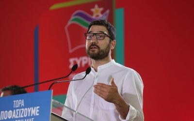 Ηλιόπουλος (ΣΥΡΙΖΑ): Ο Μητσοτάκης παραδέχθηκε στη Βουλή τη συγκάλυψη στο σκάνδαλο Μενδώνη-Λιγνάδη