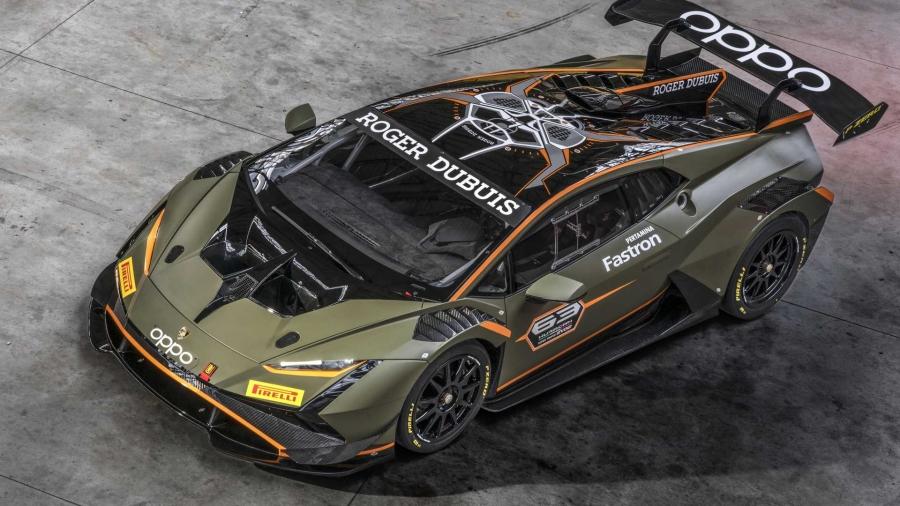 Lamborghini Huracan Super Trofeo EVO2: Τέρας αεροδυναμικής!
