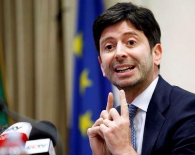 Speranza (Ιταλία): Θα μειωθεί το δεύτερο μισό της άνοιξης ο αριθμός των μολύνσεων