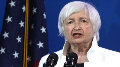 Yellen (ΥΠΟΙΚ ΗΠΑ): Απαραίτητοι οι υψηλοί φόροι για να μειωθούν μακροπρόθεσμα τα ελλείμματα