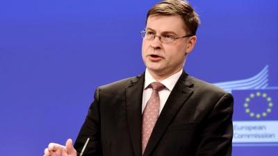 Dombrovskis (Κομισιόν): Τέλη Ιουλίου αναμένονται οι πρώτες εκταμιεύσεις από το Ταμείο Ανάκαμψης