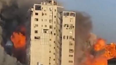 Ισραήλ: Επιβεβαίωσε το βομβαρδισμό του κτιρίου στη Γάζα, γιατί το χρησιμοποιούσε η Χαμάς για στρατιωτικούς σκοπούς