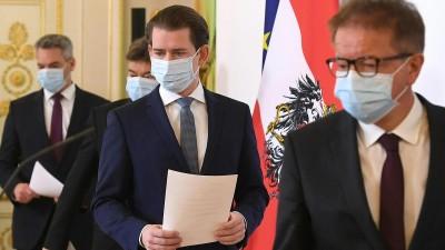 Αυστρία: Ολικό lockdown έως τις 6 Δεκεμβρίου ανακοινώνει ο Sebastian Kurz