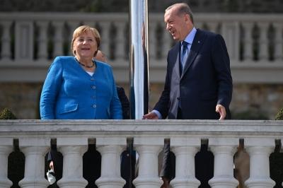 Το εγκώμιο της Merkel από τον Erdogan:  Καθοριστικός ο ρόλος της σε όλες τις περιφερειακές κρίσεις, έβρισκε πάντα λύσεις