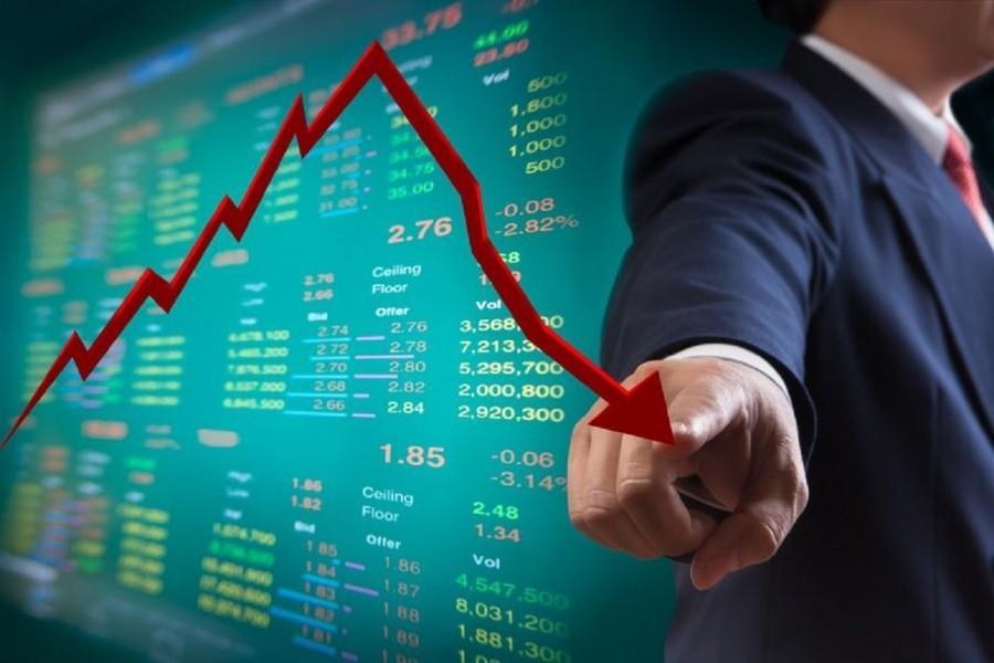 Νέο sell off  σε τράπεζες και FTSE 25 έως -9% στο ΧΑ -5,08% στις 564 μον. – Με lockdown ορατές οι 480 μον.