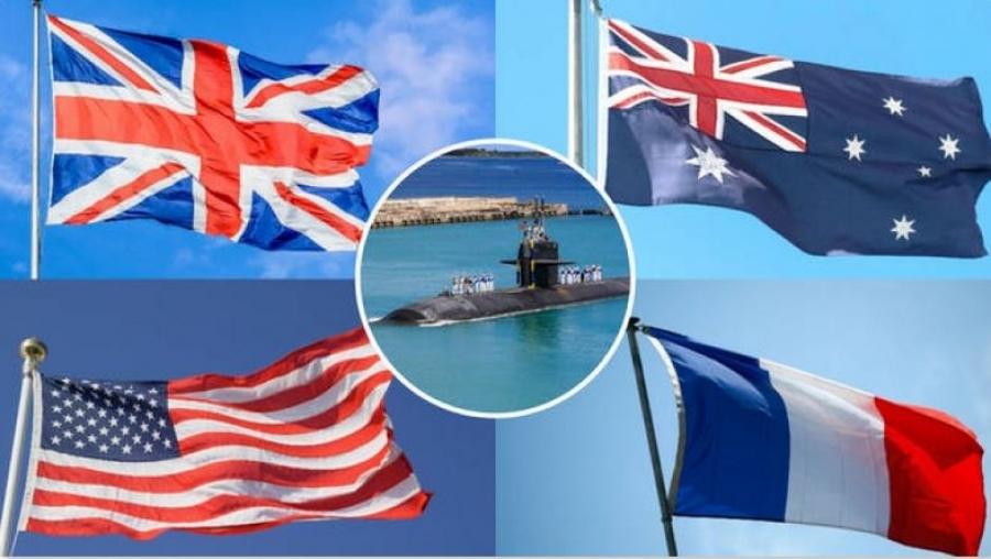 Αντιδράσεις μετά την απόφαση της Γαλλίας να ανακαλέσει τους πρέσβεις της από ΗΠΑ - Αυστραλία λόγω της συμμαχίας AUKUS