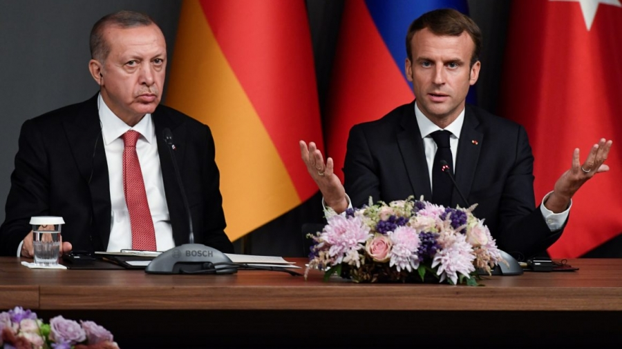 O Macron αναζητά «ξεκαθάρισμα» με την Τουρκία - Συνάντηση με Erdogan στο ΝΑΤΟ