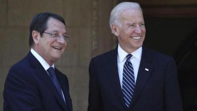 Επιστολή Biden σε Αναστασιάδη: Προσβλέπω σε συνεργασία για την αντιμετώπιση κοινών προκλήσεων