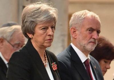 Βρετανία: May και Corbyn οι πιο αντιδημοφιλείς πολιτικοί όλων των εποχών!