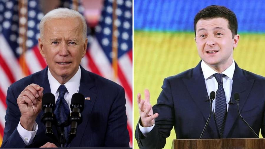 Biden (ΗΠΑ): Επιχείρηση κατευνασμού της Ουκρανίας μετά την υπαναχώρηση στον αγωγό Nord Stream 2