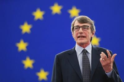 Σε οικειοθελή απομόνωση ο Sassoli (Ευρωκοινοβούλιο) - Είχε ταξιδέψει στην Ιταλία
