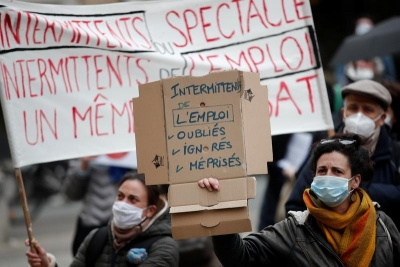 Γαλλία: Καταλήψεις σε θέατρα 9 πόλεων με αίτημα το άνοιγμα των πολιτιστικών χώρων