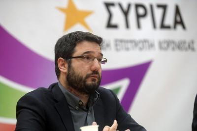Ηλιόπουλος (ΣΥΡΙΖΑ): Να παραιτηθούν Κεραμέως και Θεοδωρικάκος για την υπόθεση με τις μάσκες στα σχολεία