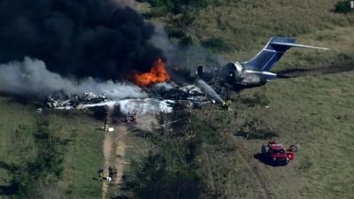 ΗΠΑ: Αεροσκάφος με 21 επιβαίνοντες κατέπεσε στο Τέξας - Όλοι σώθηκαν