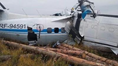 Ρωσία - Συντριβή αεροπλάνου: Σταμάτησε να λειτουργεί ένας από τους κινητήρες του