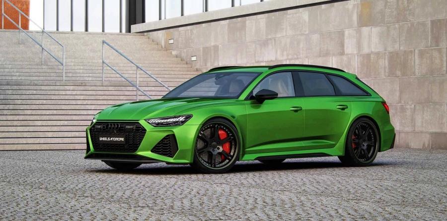 Πόσα άλογα έχει αυτό το σπέσιαλ Audi RS6;