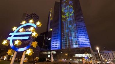 Έρευνα ΕΚΤ: Υποβάθμιση των προβλέψεων για την ανάπτυξη στην ευρωζώνη το 2021 - Στο 4,4% από 5,3%