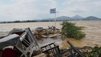 Ο διεθνής Τύπος για τις καταστροφικές πλημμύρες στην Εύβοια: Πρώτα φωτιές, τώρα νερό