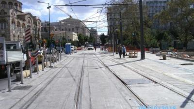 Ξεκίνησαν τα δοκιμαστικά δρομολόγια του τραμ στον Πειραιά