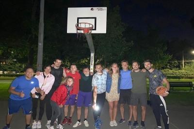 Τζιανμάρκο Ταμπέρι:  Ο χρυσός Ολυμπιονίκης άφησε το άλμα εις ύψος και έπιασε το μπάσκετ
