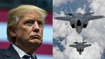 Trump: Οι ΗΠΑ δεν πρέπει να εξαρτώνται από τρίτους για την παραγωγή των F 35