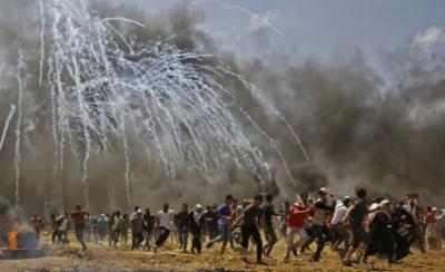 Γάζα: Παλαιστινιακές ρουκέτες, ισραηλινές αεροπορικές επιδρομές, ένας νεκρός, πολλοί τραυματίες
