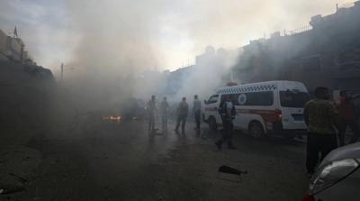 «Ισραηλινή επίθεση» στη Δαμασκό, τουλάχιστον 4 στρατιωτικοί τραυματίστηκαν