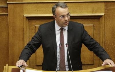 Σταϊκούρας: H Ελλάδα δεν μπορεί να μπει σε καραντίνα - Προτεραιότητα η μονιμοποίηση των μειώσεων