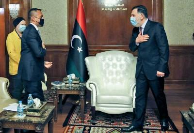 Λιβύη: Συνάντηση Sarajj - Di Maio (ΥΠΕΞ Ιταλίας) - Στο επίκεντρο η αποστολή «Ειρήνη» για την τήρηση του εμπάργκο όπλων
