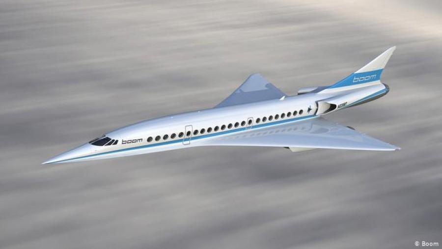 ΧΒ1 - Baby Boom: Παρουσιάζεται σήμερα 7/10, το πρώτο διθέσιο τζετ της νέας γενιάς υπερηχητικών αεροσκαφών