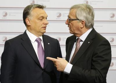 Juncker: Ο Orban δεν έχει πλέον θέση στο Ευρωπαϊκό Λαϊκό Κόμμα