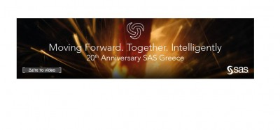 Η SAS γιορτάζει 20 χρόνια παρουσίας στην Ελλάδα - Νέες βάσεις για την ψηφιακή μετάβαση των ελληνικών επιχειρήσεων