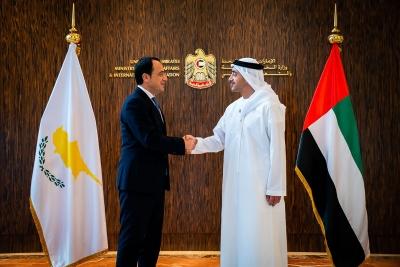 Υπογραφή μνημονίου αμυντικής και στρατιωτικής συνεργασίας Κύπρου με Ηνωμένα Αραβικά Εμιράτα