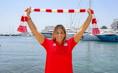 Ξενάκη: «Θέλω να κατακτήσω κάθε τρόπαιο με τον Ολυμπιακό» (video)
