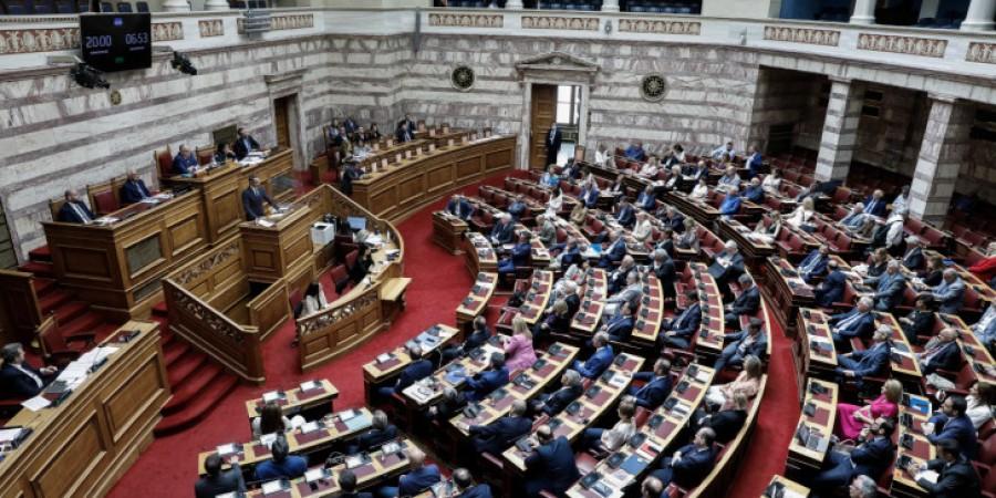 Βουλή: Στα ύψη η αντιπαράθεση για τον πτωχευτικό κώδικα - Σταϊκούρας: Παρέχεται πραγματική 2η ευκαιρία -  Παρεμβάσεις πολιτικών αρχηγών