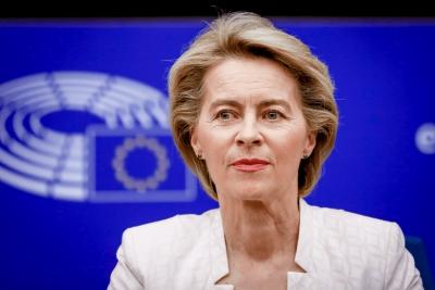Von der Leyen (Κομισιόν): Εμβολιασμένο κατά της covid πάνω από το 50% των ενήλικων Ευρωπαίων