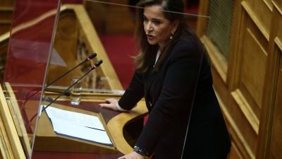 Μπακογιάννη (βουλευτής ΝΔ): Κεντρική στρατηγική, ο διάλογος με την Τουρκία και η Χάγη