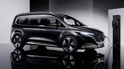 H ηλεκτρική Mercedes EQT φέρνει την πολυτέλεια στα MPV