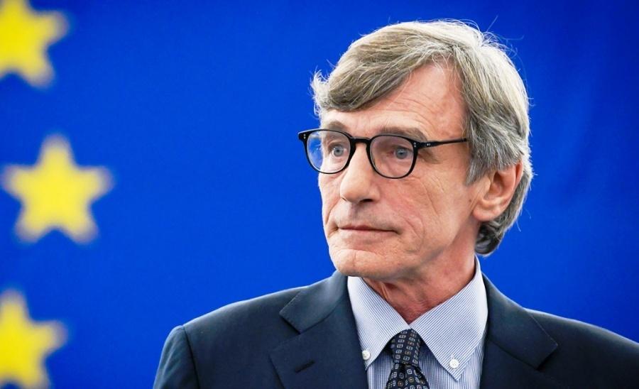 Μήνυμα Sassoli προς τους θεσμούς της ΕΕ: «Δείξτε θάρρος για το σχέδιο ανάκαμψης της ΕΕ»