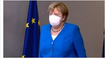 Merkel: Περίπλοκη η εφαρμογή του Ταμείου ανάκαμψης - Λυπηρά και αχρείαστα μονομερή τα μέτρα της Τουρκίας