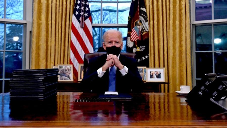 Στην τελική ευθεία το πακέτο Biden, ύψους 1,9 τρισ. δολ. - Στη Βουλή την Τετάρτη 10/3