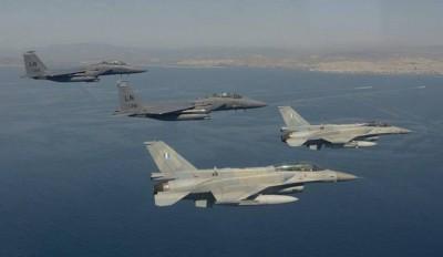 Κοινές ασκήσεις της Ελληνικής αεροπορίας με τα ΗΑΕ πάνω από Αιγαίο και Κρήτη