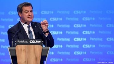 Γερμανία (δημοσκόπηση):  Σταθερή η υπεροχή του Söder (CSU) έναντι του Laschet (CDU) – Τα εκλογικά σενάρια
