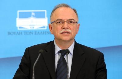 Παπαδημούλης: Επιβάλλεται να προχωρήσουμε ταχύτερα την εμβάθυνση της πολιτικής ενοποίησης της ΕΕ