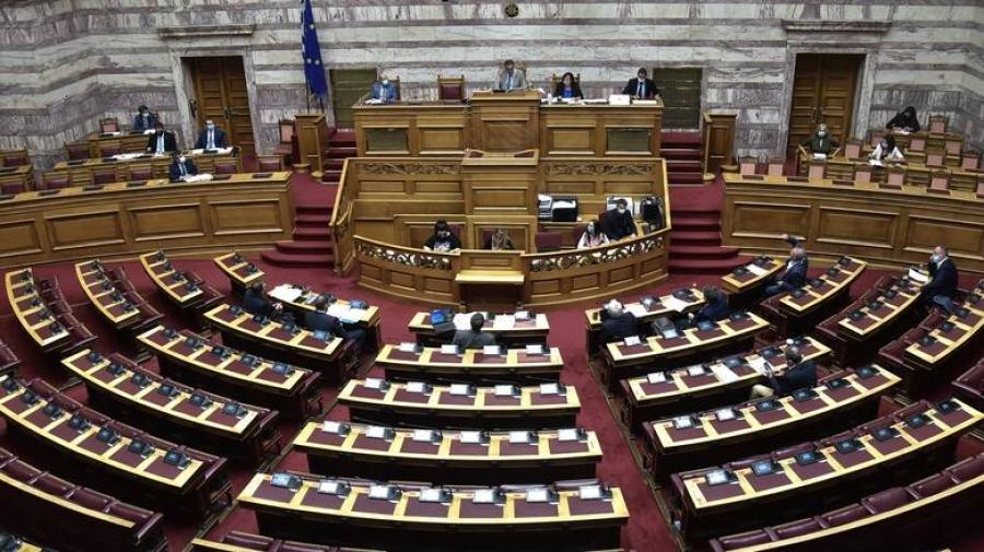 Βουλή: Αύριο 12/1 η συζήτηση επί του ν/σ για την επέκταση των χωρικών υδάτων στα 12 ν.μ. στο Ιόνιο