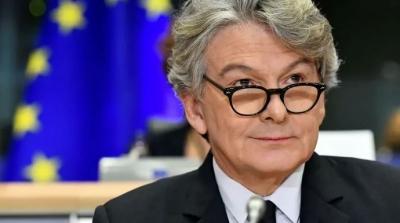 Breton (Commission): Συλλογική ανοσία στην Ευρώπη μέχρι 14 Ιουλίου